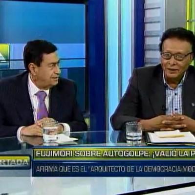 Barrera: No es cierto que el Congreso era una traba para Fujimori y el autogolpe