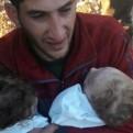 Ataque químico en Siria: hombre perdió a sus dos gemelos y esposa