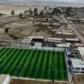 La enorme casa del alcalde de Chilca vista desde un dron