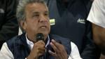 """Ecuador: Moreno pide a Lasso """"perder con dignidad"""" - Noticias de segunda vuelta"""