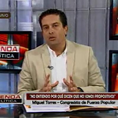 Miguel Torres: Ejecutivo hizo mal uso de las facultades legislativas