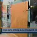 Centro comercial Arenales: asaltantes usaron comba para entrar a tienda