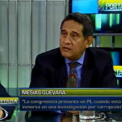 Guevara: La coherencia no se hace notar en la actitud de Alejandra Aramayo