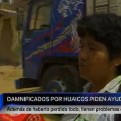 Cajamarquilla: sobrevivientes de huaicos piden ayuda