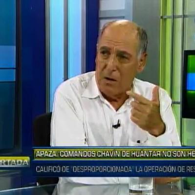 Tapia: No reconocer la labor heroica de los comandos es un gravísimo error
