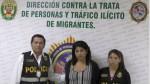 Detienen a mujer acusada de integrar banda de explotación sexual infantil - Noticias de pnp