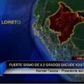 Iquitos: fuerte sismo de 6.2 grados causó alarma