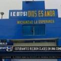 Trujillo: alumnos de primaria reciben clases en una comisaría