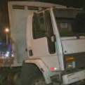 San Miguel: camión bloquea tránsito en avenida Elmer Faucett