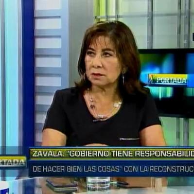 Chávez: Proyecto de ley de reconstrucción se envió a la Comisión de Constitución