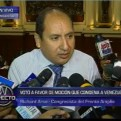 Legislador del Frente Amplio voto a favor de moción sobre Venezuela