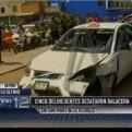 Ladrones desataron balacera frente al mercado Unicachi en SMP