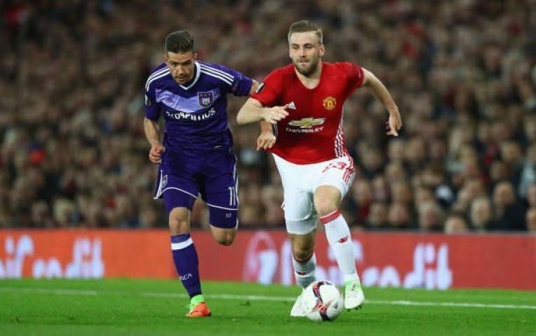 Manchester United a 'semis' de la Europa League tras vencer a Anderlecht   Deportes