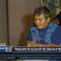 Alcalde de Chilca es trasladado al penal Ancón I