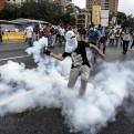 Venezuela: otro hombre murió baleado durante manifestación en Caracas