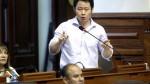 Kenji: La estrategia política no puede estar por encima de los principios - Noticias de kenji fujimori