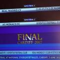 Champions League: Real Madrid-Atlético y Mónaco-Juventus en semifinales