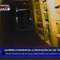 Los mineros que ayudaron en la operación Chavín de Huántar