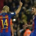 Barcelona apabulló 7-1 a Osasuna con doblete de Messi y gol de Mascherano