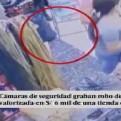 'Tenderas' roban mercadería en galería del emporio de Gamarra