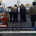 San Isidro: delincuentes le roban 70 mil soles a empresario