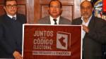 Piden que Congreso debata y apruebe el nuevo código electoral - Noticias de adolfo rico