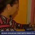 SMP: asaltan viviendas y roban S/ 25 mil en dinero y artefactos