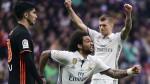 Real Madrid superó 2-1 al Valencia con goles de Cristiano y Marcelo - Noticias de dani parejo