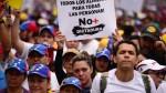 Venezuela: opositores retan a Maduro en marcha por el 1 de mayo - Noticias de saqueos