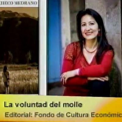 Tiempo de Leer: Karina Pacheco presentó 'La voluntad del molle'