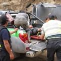 Áncash: unidad del INPE que trasladaba a internos desde Lima se despistó hoy