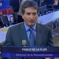 Pablo de la Flor dice que obras de reconstrucción se iniciarán de inmediato