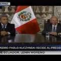 PPK se reunió con el presidente electo de Ecuador Lenin Moreno