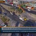 Los Olivos: alcalde pide se mejoren puentes de la Panamericana Norte