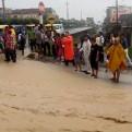 Bagua: calles y viviendas inundadas por intensa lluvia