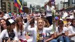 """Venezuela: mujeres marcharon contra la """"represión"""" y """"por la paz"""" - Noticias de corina machado"""