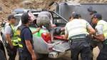 Áncash: unidad del INPE que trasladaba a internos desde Lima se despistó hoy - Noticias de hospital san luis