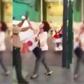 Facebook: mujer insulta y golpea a policía con un zapato