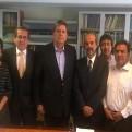 Alan García volvió al Perú y tuvo reunión con dirigentes apristas