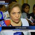 Luz Salgado: No manoseemos más el tema del indulto para Alberto Fujimori