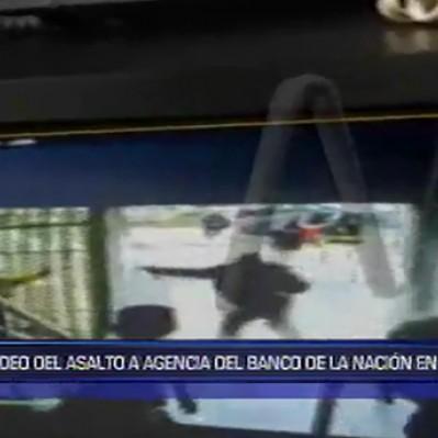 La Victoria: asaltan agencia del Banco de la Nación de la avenida Arriola