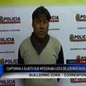 Cusco: capturan a sujeto que integraba lista de los más buscados