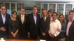 Alan García volvió al Perú y tuvo reunión con dirigentes apristas - Noticias de alan garcía