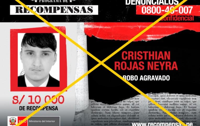 Cercado de Lima: capturan a sujeto que integraba lista de los más buscados | Actualidad