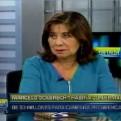 """Martha Chávez sobre caso Odebrecht: """"Ese dinero era robado a los Estados"""""""