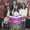 Verónika Mendoza evitó opinar sobre la división en el Frente Amplio