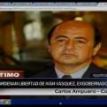 Yván Vásquez: Poder Judicial ordenó libertad de ex gobernador de Loreto