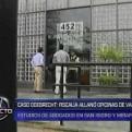 Caso Odebrecht: intervienen oficinas de estudio de abogados en San Isidro