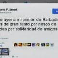 Fujimori tras retorno a la Diroes: