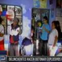 Barranca: delincuentes detonaron explosivos en plena calle